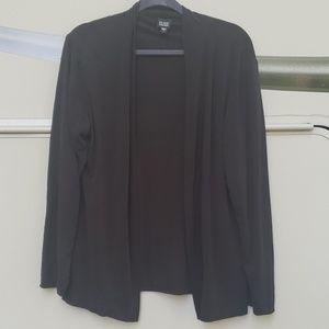 Eileen Fisher Open Front 100% Silk Cardigan